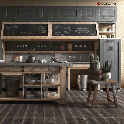 Old Kitchen Wood
