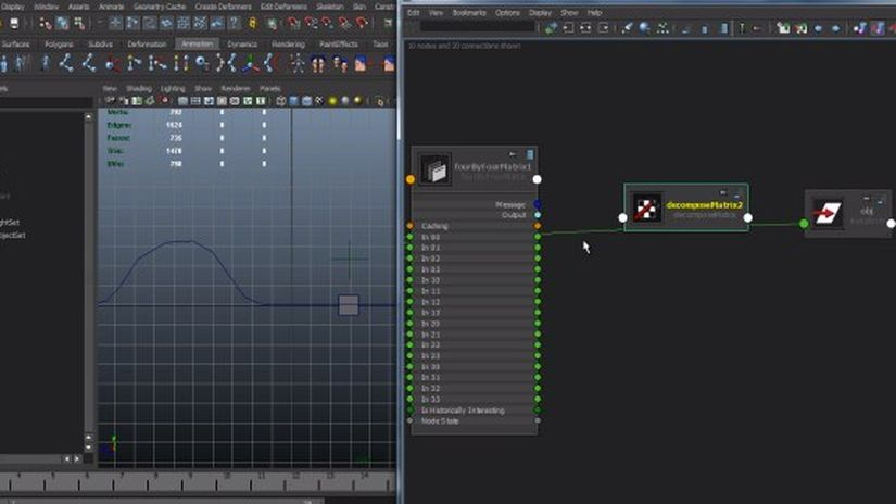 #rigTip - maya collision system with matrix