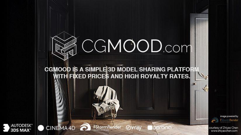 CGMood, una nuova piattaforma per la vendita dei modelli 3D