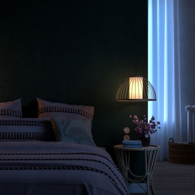 Green Bedroom - Night Version