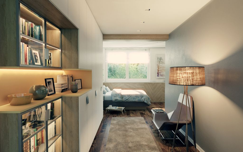 2 camere da letto - Topčider - 2 спаваће собе