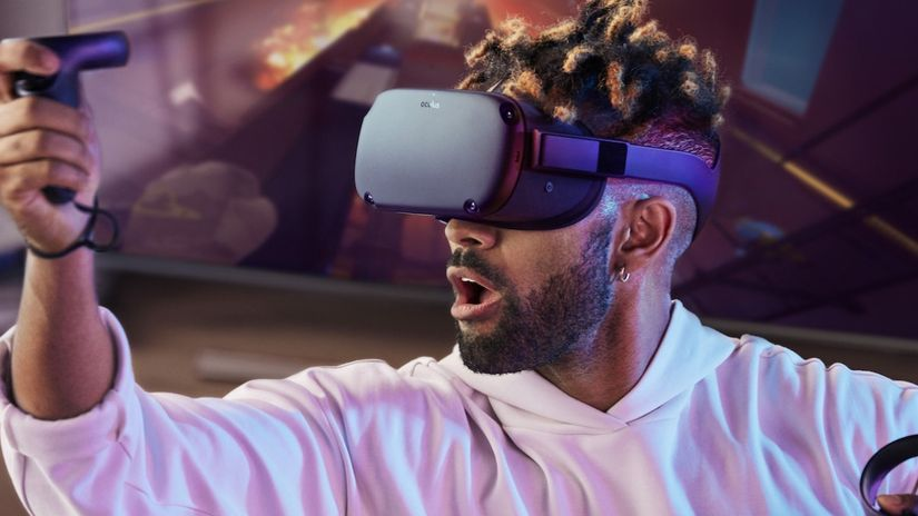 Oculus Quest - VR standalone 6DOF con controller Touch
