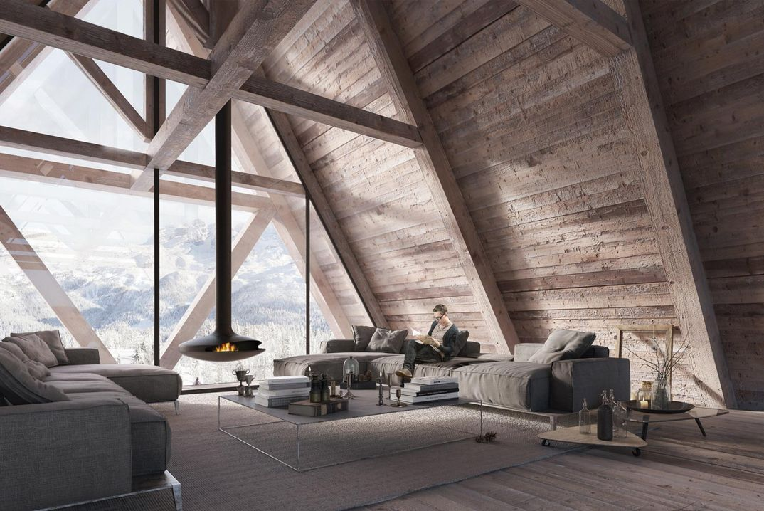 Mountain chalet in Cortina