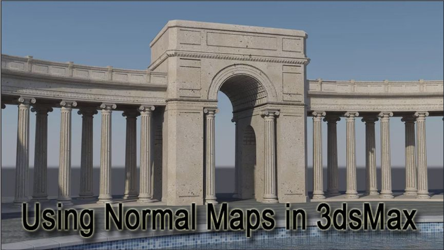 Using Normal Maps in 3dsMax