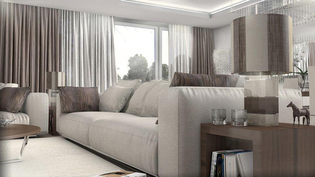 Render soggiorno classico
