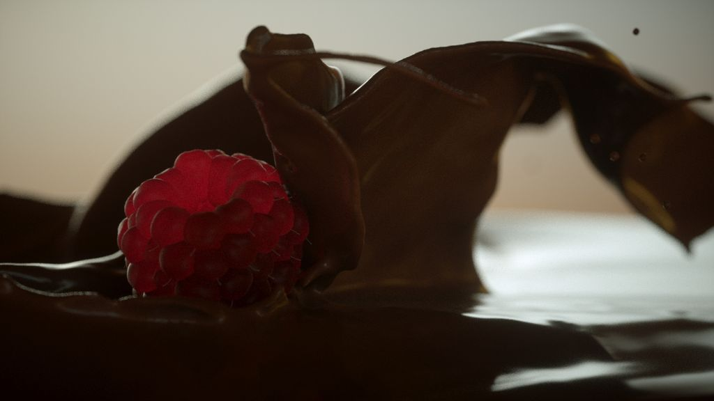 Realflow:Chocolate Simulation