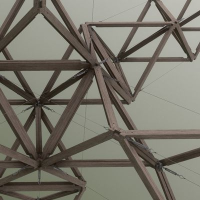 Tensostruttura a Moduli Tetraedrici