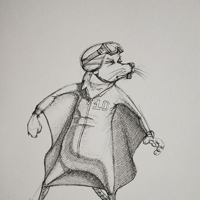 Character Sketch: Flying Rat