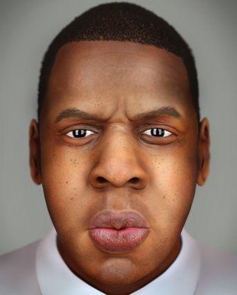 Jay Z Portrait