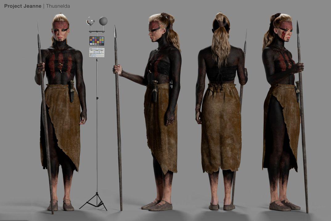 Project Jeanne | THUSNELDA