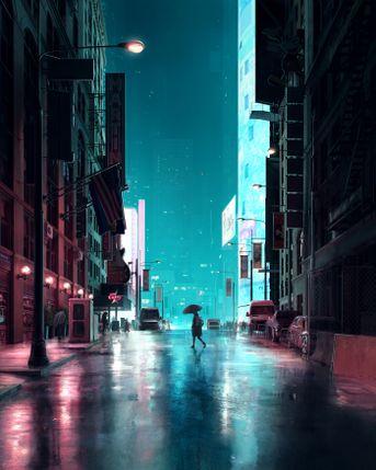 Electric Rain | 2019