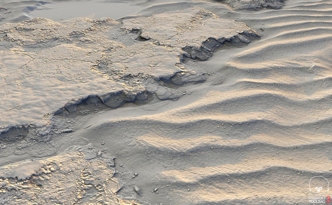 Rocks with sands - Substance Designer