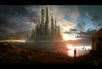 Points Of View - Matte Painting