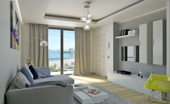 Render di interni - Living Room