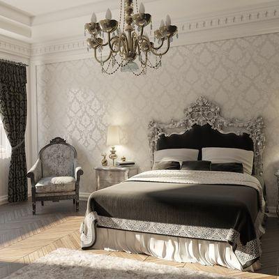 camera da letto neo classica