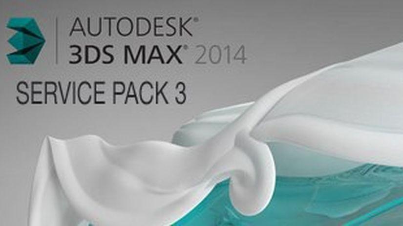 Autodesk 3ds Max 2014 e 3ds Max Design 2014 Service Pack 3 (SP3)