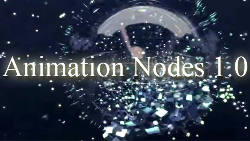 Blender - Animation Nodes 1.0