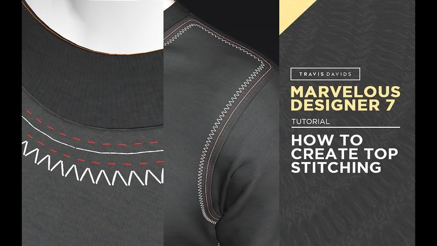 Come creare le cuciture in Marvelous Designer 7