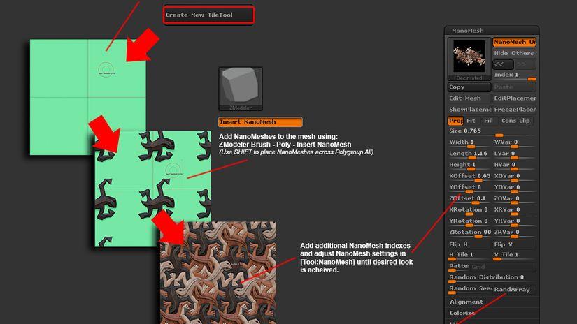 NanoTile Textures  1.2
