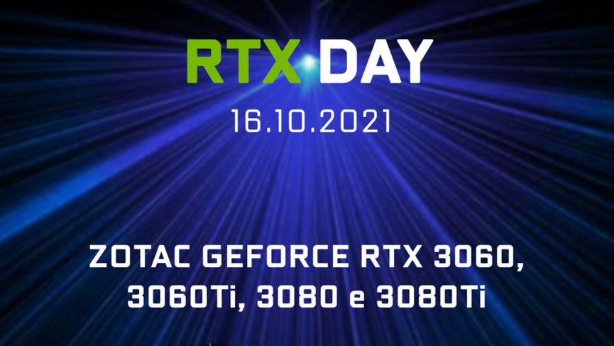 Un secondo RTX DAY in arrivo: sabato 16 ottobre