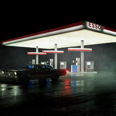 ESSO by night