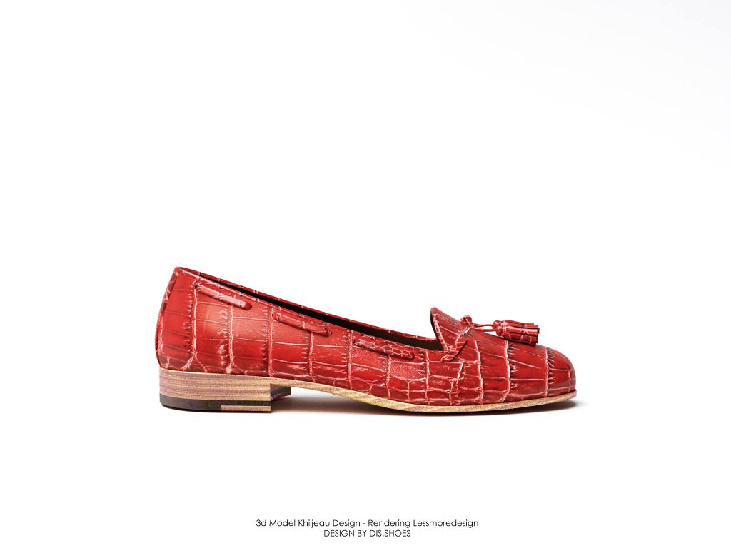 Woman ballerina shoe