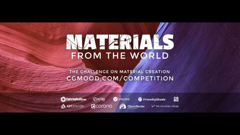 CGMood organizza Materials From The World, la nuova challenge 2019