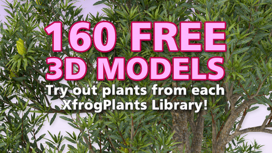 XFrog 160 new free plant