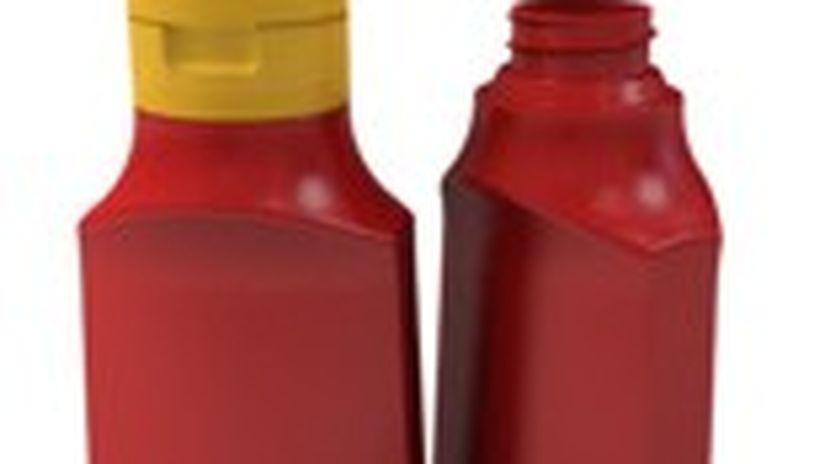 Modellazione Di Una Bottiglia Di Ketchup Con Rhinoceros