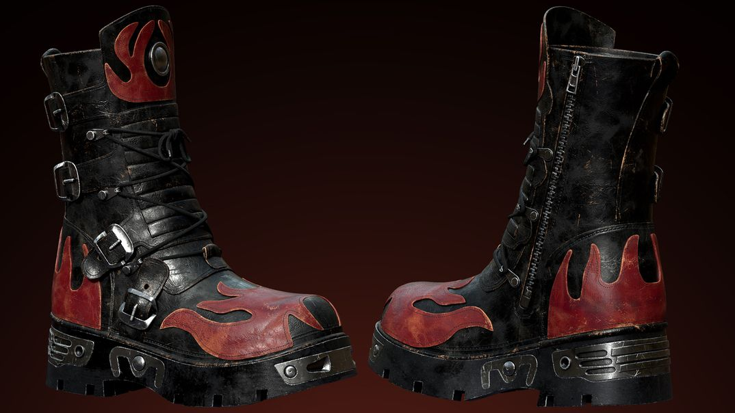 The  fashion Orc -  the shoes