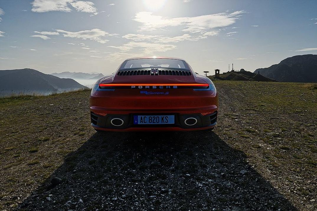 Porsche 911  - Passo Crocedomini - Set01
