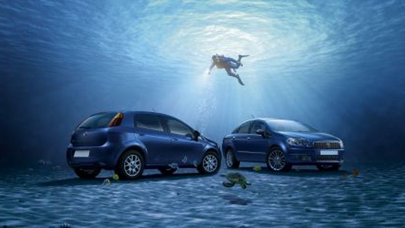 Auto che nuotano? Fiat rende così con MODO