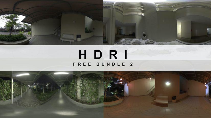 Free HDRI Bundle 1 e 2