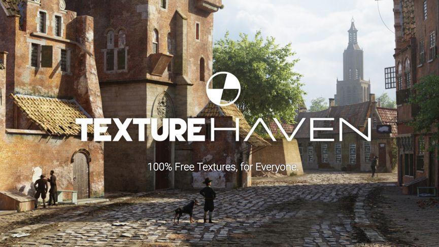 Texture Haven - Texture 8k e mappe PBR gratuite