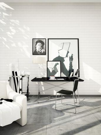 Interiors | Black and White