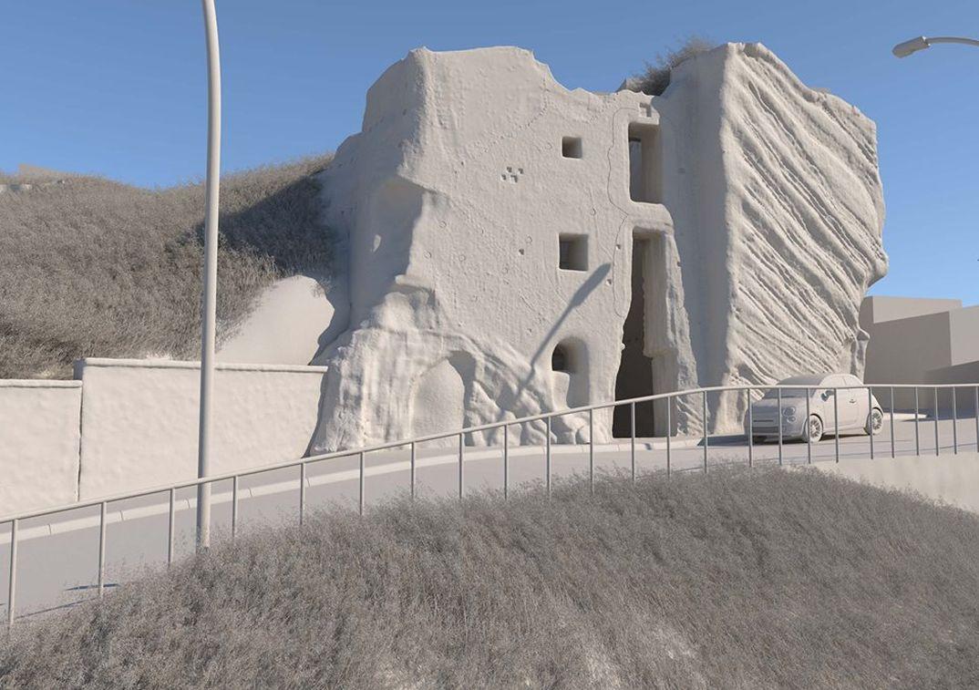 Architettura a pezzi per un'architettura in pezzi