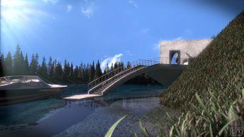 A strange house on the lake