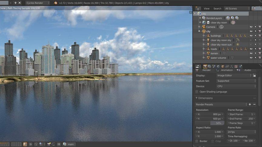Scene City 0.7