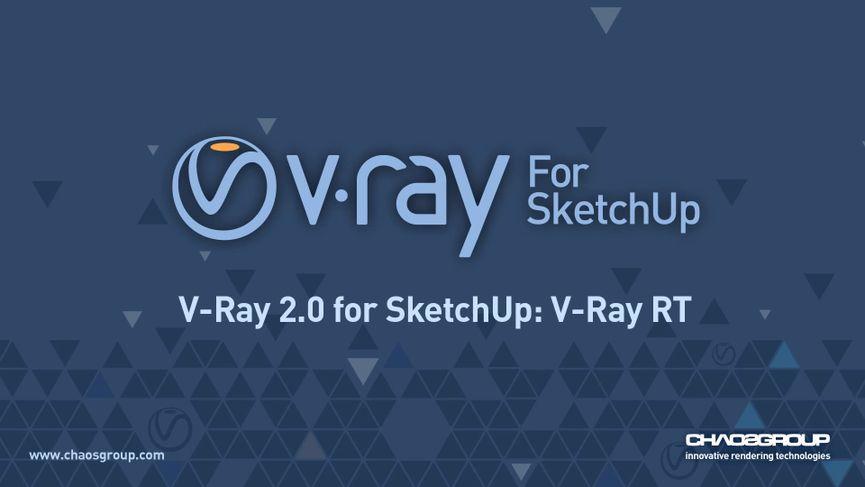 V-Ray 2.0 per SketchUp 2016