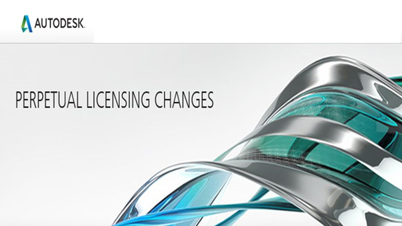 Autodesk Perpetual Licensing Changes