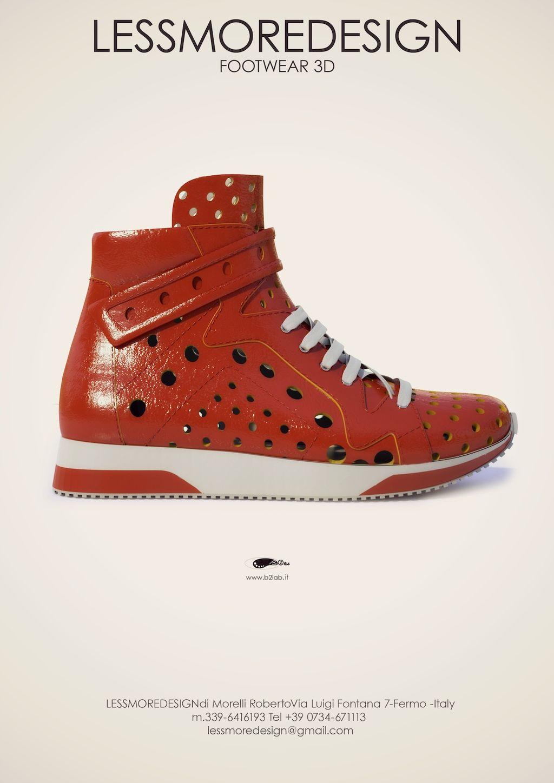 Modellazione-renderign sneaker