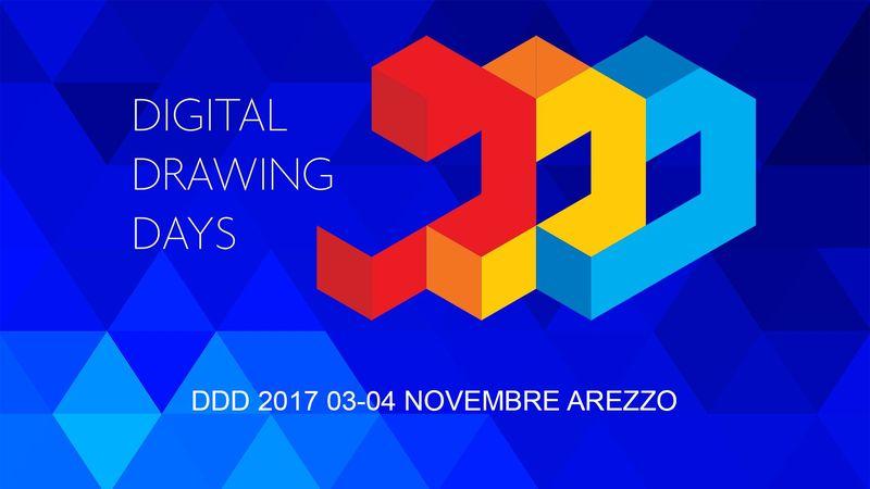 DDD 2017 - Ottava edizione - 3 e 4 novembre, Arezzo