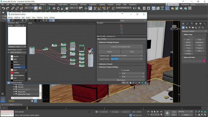 Substance e 3ds Max: sempre più integrati