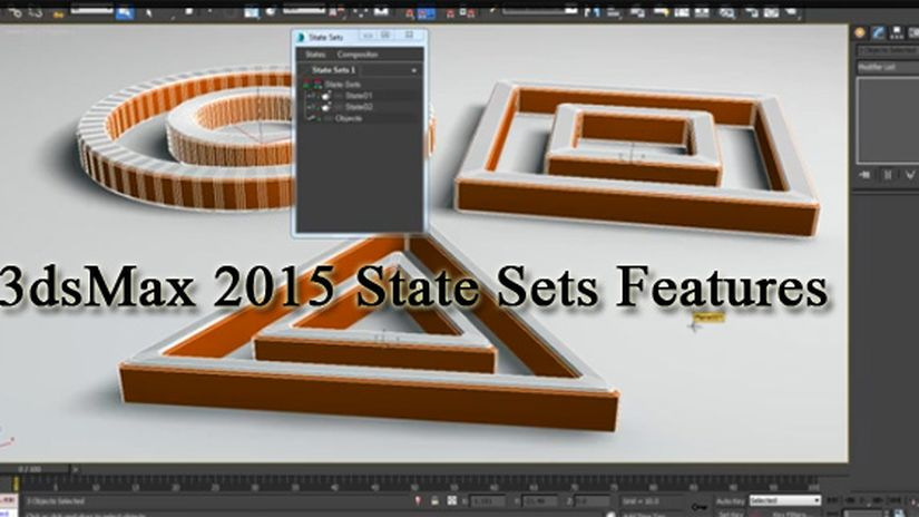 3dsMax 2015 State Sets Features