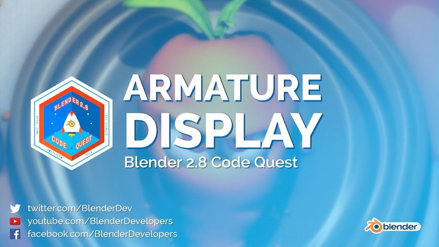 Blender 2.8: Nuovo Armature Display