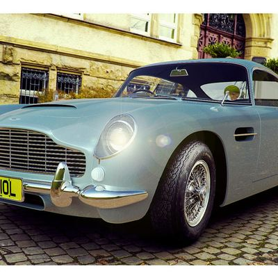 Aston DB5 rebuild scene