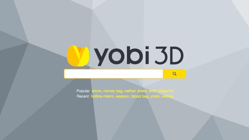 Yobi3D: un motore di ricerca per modelli 3D gratuiti