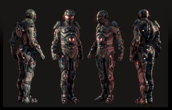 Future Soldier - Realtime Character