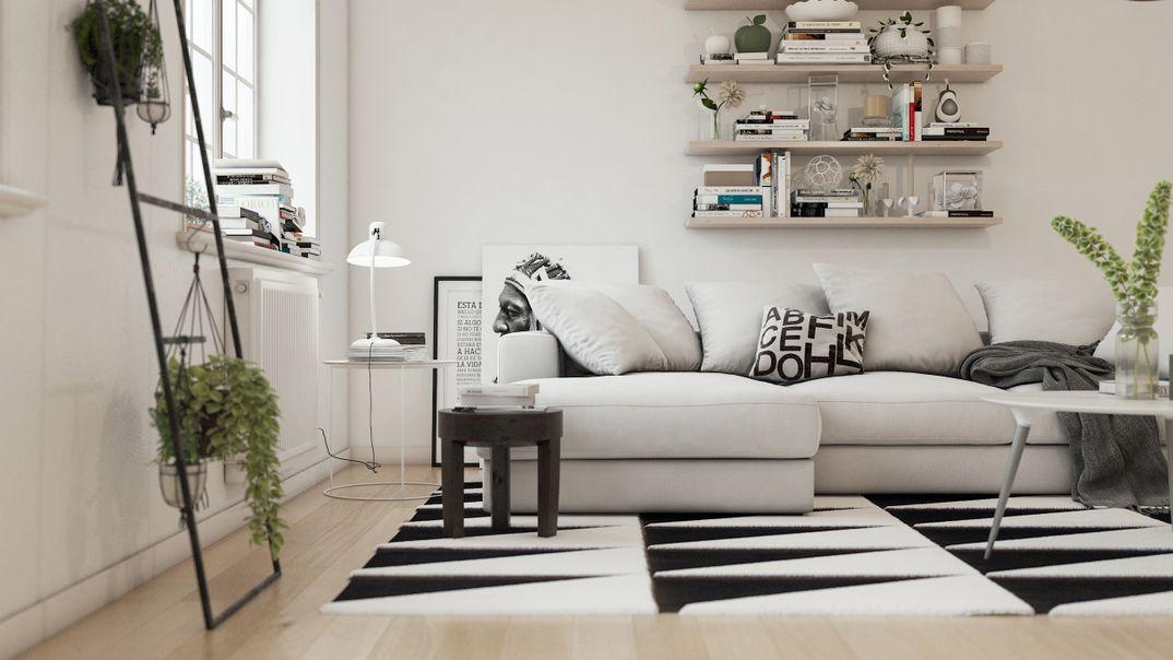 Scandinavian project render Vray