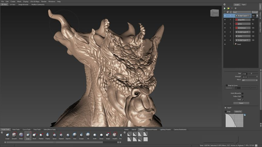 MudBox 2016 and Flame 2016
